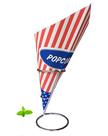 Spitztüten-Popcorn-40-Stück
